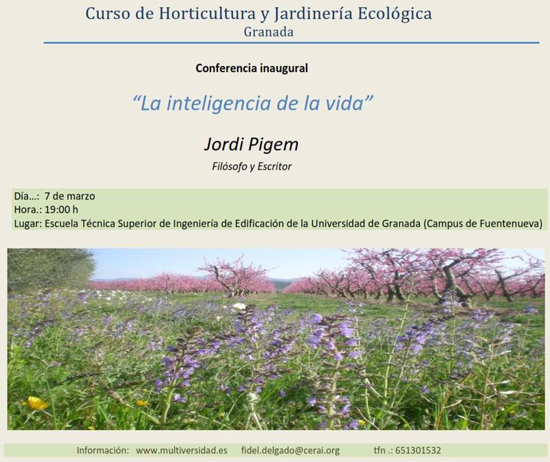Curso ecolog a urbana horticultura jardiner a ecol gica for Curso de jardineria