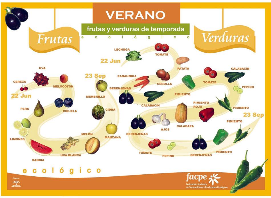 Frutas y Verduras Verano